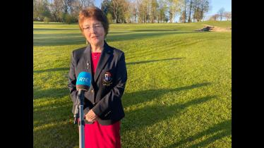Back in the swing of things as County Longford Golf Club welcomes RTÉ to pristine reopened course