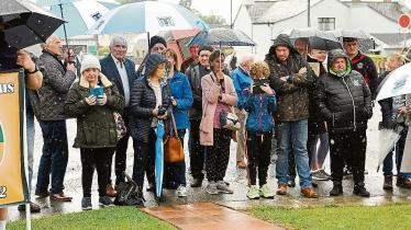 Longford Leader gallery: Crowds turn out for Martin Hurson Commemoration