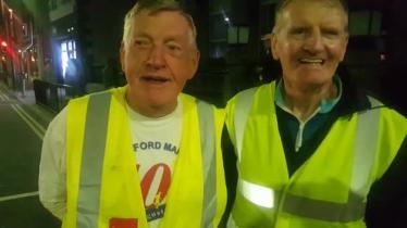 WATCH: Liam Fenelon completes longest ultra marathon in world in Longford town