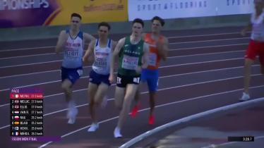 WATCH | European gold medal glory  for Longford's magnificent Cian McPhillips