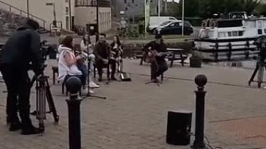 WATCH: Nathan Carter and Sharon Shannon wow crowds in Clondra