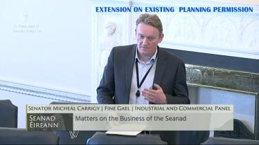 Longford Senator calls for extension to existing planning permissions to be put in place
