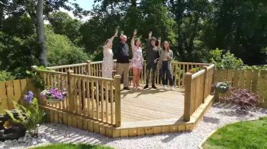Watch | Bubbly flows as Longford woman wins life changing prize of a new house and car