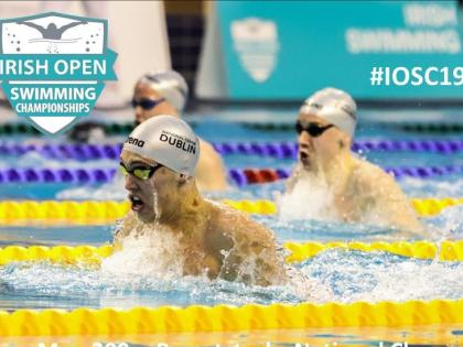 Longford swimming star Darragh Greene sets new Irish senior
