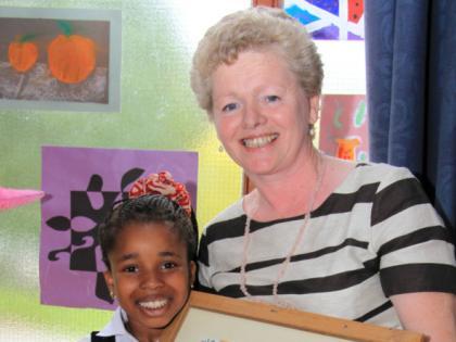 St Joseph's NS says farewell to Mrs Farrell - Longford Leader