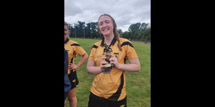 Longford woman stars as newly established camogie club triumphs in Dublin