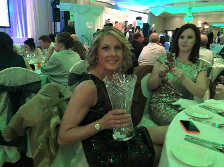The 24th National Community Games Area, Volunteer and Media Awards took  place in The Salthill Hotel on Saturday and pictured is Longford Adult  Volunteer of ...