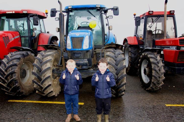 Longford leader gallery newtowncashel tractor run in aid for Old ben franklin motors oak ridge