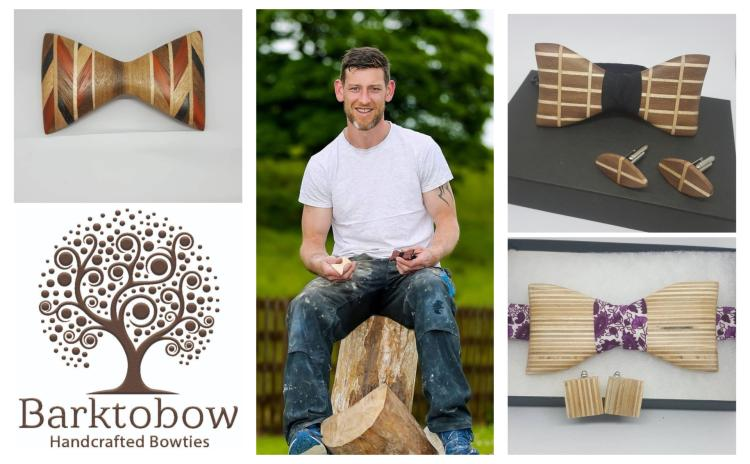 22afc3bd47e2 A Longford success story: Barktobow Bowties - bespoke handcrafted wooden  bowties