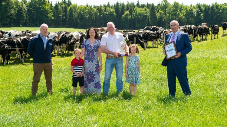 Longford farm family wins big in  Lakelands milk quality awards