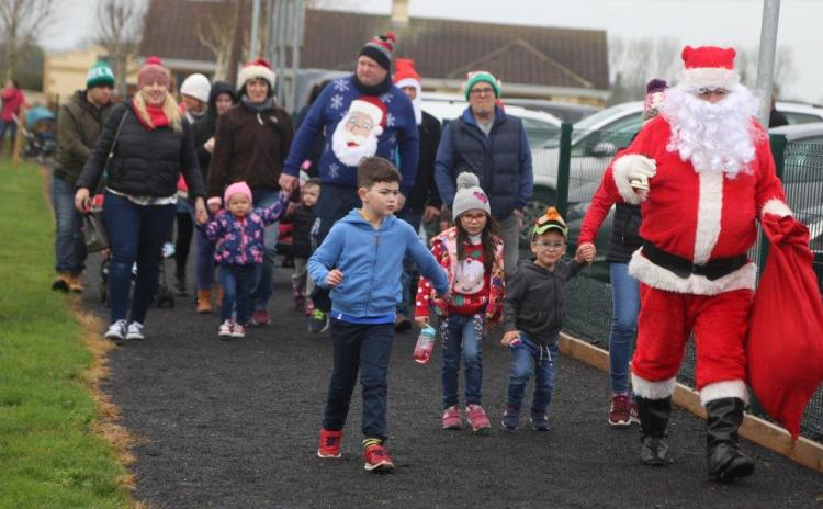 Pictures | Christmas kicks off in Lisryan with the annual Santa Dash