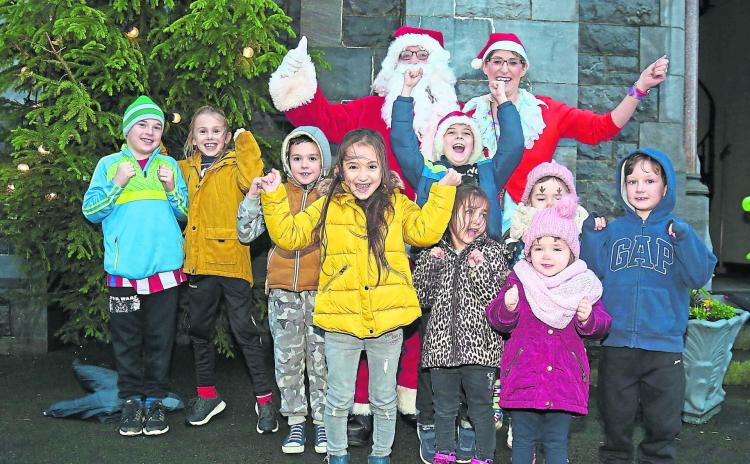 Pictures | Day of family fun as Santa switches on the lights in Ballymahon