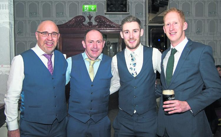 PICTURES | Rathcline celebrate intermediate championship success at dinner dance in Longford Arms Hotel