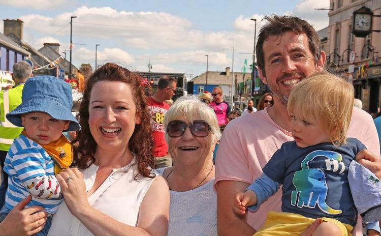 Longford Leader gallery: Families savour delights of Summer Festival Fun Day
