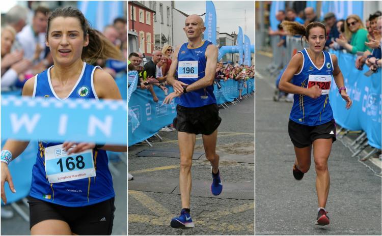 Abbott Longford Marathon produces historic double as local athletes Barry Sheil and Niamh Kiernan triumph