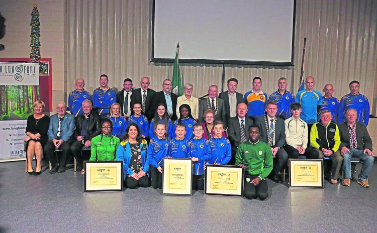 Longford Leader gallery: Sporting achievements civic reception