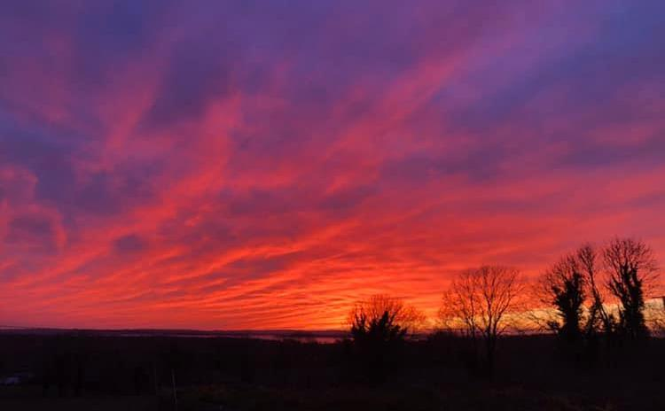 PICTURES | Looking back on a fabulous sunset over Longford