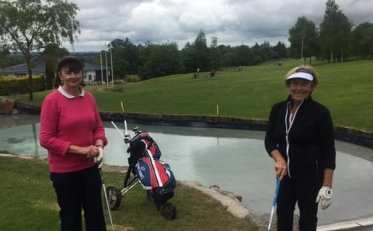 Big day at Co Longford Golf Club as tee to green action resumes