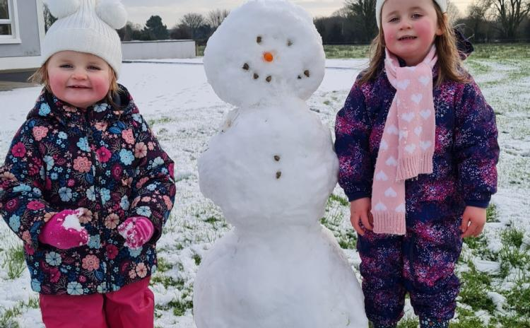Snowy Longford Gallery 4: A selection of lovely Longford sneactha photos