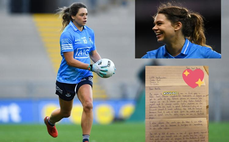 Dublin ladies football star Noelle Healy delighted to receive letter from young Longford fan