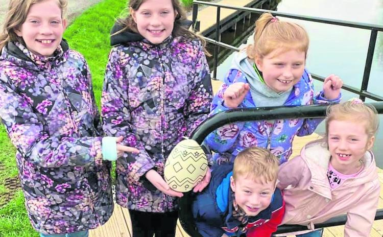 Great parish spirit as Carrickedmond hosts Easter egg hunt and big clean-up