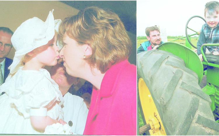 Down Memory Lane   'Nose to see you' - President Mary McAleese visits Longford and Spiral Tree art exhibition from 1999