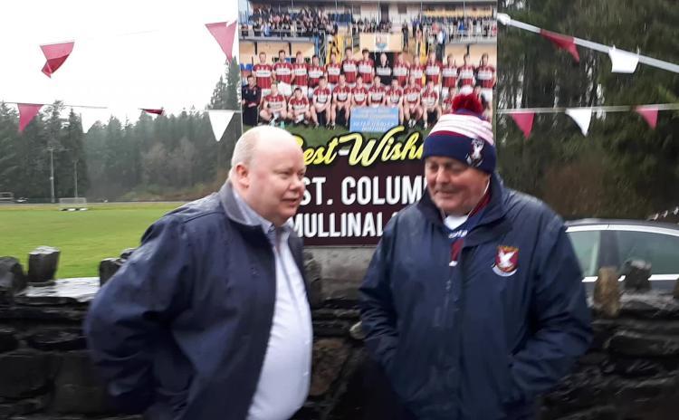 Alan Walsh and Thomas McNerney, Mullinalaghta St Columba's PRO