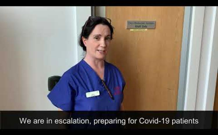 WATCH: A message from Tullamore Hospital staff amid coronavirus crisis