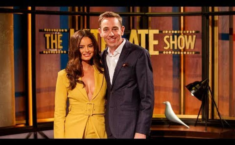 WATCH | Longford Love Island icon Maura Higgins and her mammy Sharon a huge hit on The Late Late Show