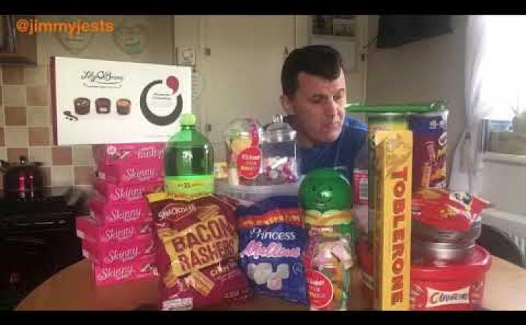 Happy Pancake Tuesday | Longford's Jimmy Jests gets rid of all the sweets in the house ahead of Lent
