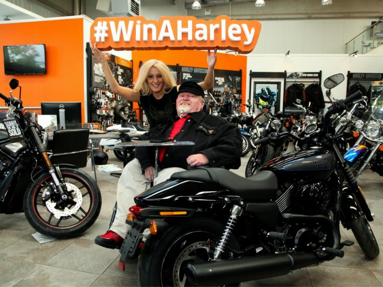 people of longford, fancy winning a harley-davidson and supporting