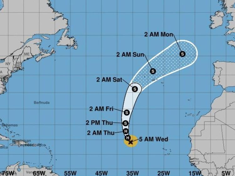 Severe weather warning issued as Hurricane Helene bears down on Ireland