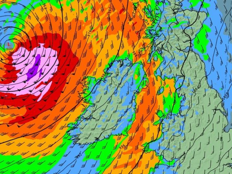 Storm Callum to hit Pembrokeshire