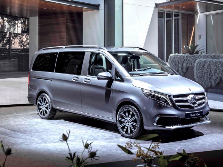Mercedes V Class >> Mercedes V Class Mpv Ready For Geneva Debut Longford Leader