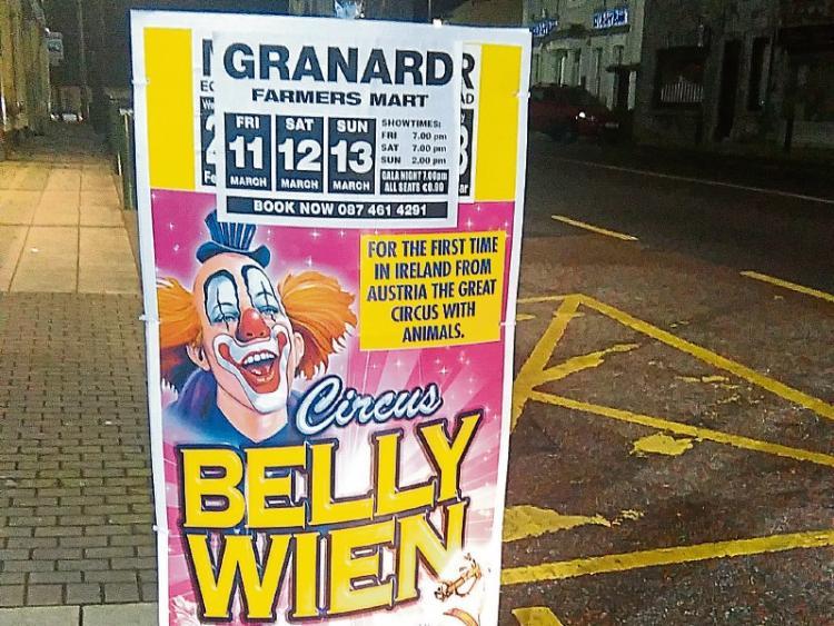 Protestors Fail To Deter The Crowds At Granard Circus Longford Leader