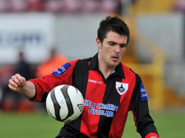 Longford Town striker David O'Sullivan receives Player of ...