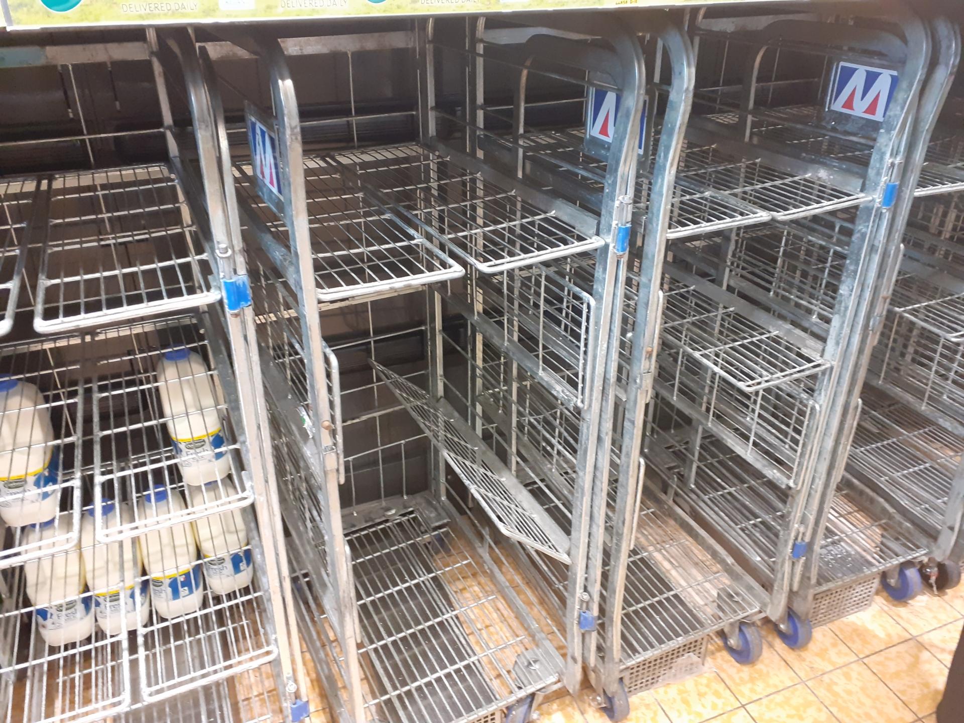 Empty milk station